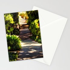 Secluded Path in Autumn Stationery Cards