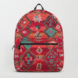 (N18) Traditional Colored Oriental Moroccan Artwork Backpack