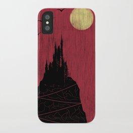 red rain iPhone Case
