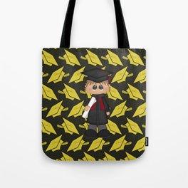 Cute Little Graduation Boy Tote Bag