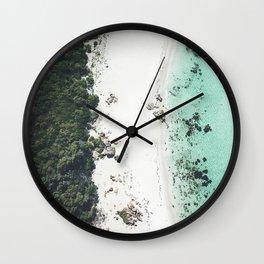 Birds Eye Bliss Wall Clock