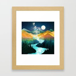 Under the Starlight Framed Art Print
