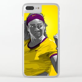 Serena Williams Clear iPhone Case