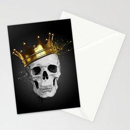 Royal Skull Stationery Cards