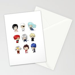 Chibi Psychopaths Stationery Cards