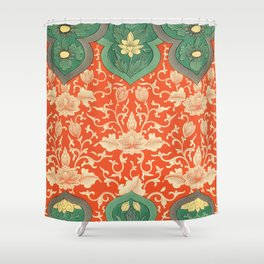 Examples of Chinese Ornament XCIV Shower Curtain