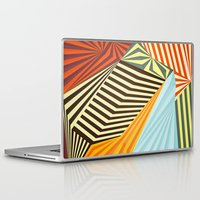 river Laptop & iPad Skins featuring Yaipei by Anai Greog