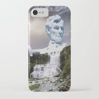 lincoln iPhone & iPod Cases featuring Lincoln 2079 by John Turck