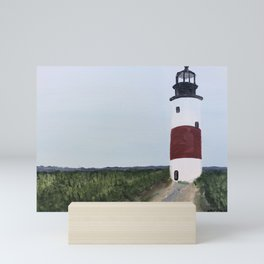 Sankaty Head on Nantucket Mini Art Print