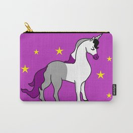 Asexual Unicorn Asexual Gift Carry-All Pouch