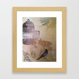 cages and birds 2 Framed Art Print