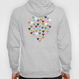 Hearts Heart Multi Grey Hoody