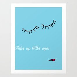 Little Eyes Art Print