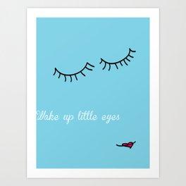 Little Eyes Art Print