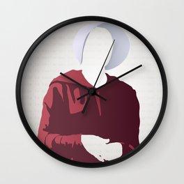 Nolite Te Bastardes Carborundorum Offred Wall Clock