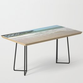 Turquoise Pier Coffee Table