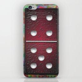 Red Dominoes 1 iPhone Skin