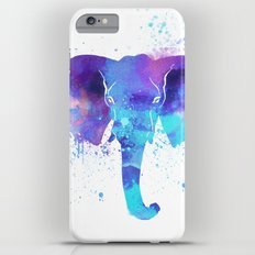 Watercolor Elephant Head iPhone 6 Plus Slim Case