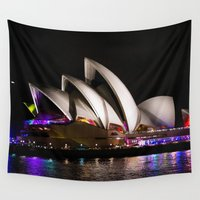australia Wall Tapestries featuring Australia by lcouch