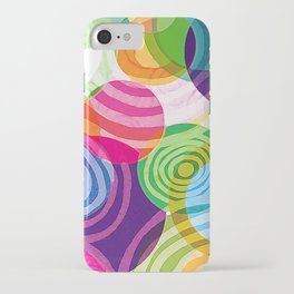 Circle-licious Sweetie iPhone Case