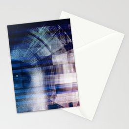 Deep Learning and Machine Artificial Intelligence Concept Stationery Cards