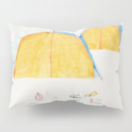 Le Camping Pillow Sham