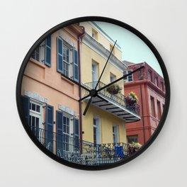 chasing balconies Wall Clock