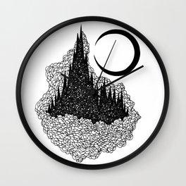 Star Towers Wall Clock