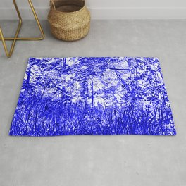 The Blue Forest Rug