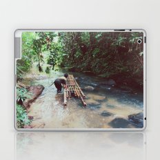 Borneo river rafting Laptop & iPad Skin