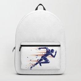 Running man Backpack