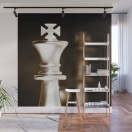 Chess-Sliver King Wall Mural