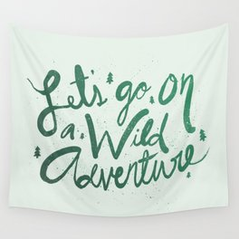 Wild Adventure Type Wall Tapestry
