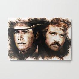 Butch and Sundance Metal Print