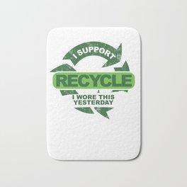 Recylce Support Recycling Bath Mat