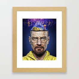 Breaking Bad Heisenberg Framed Art Print