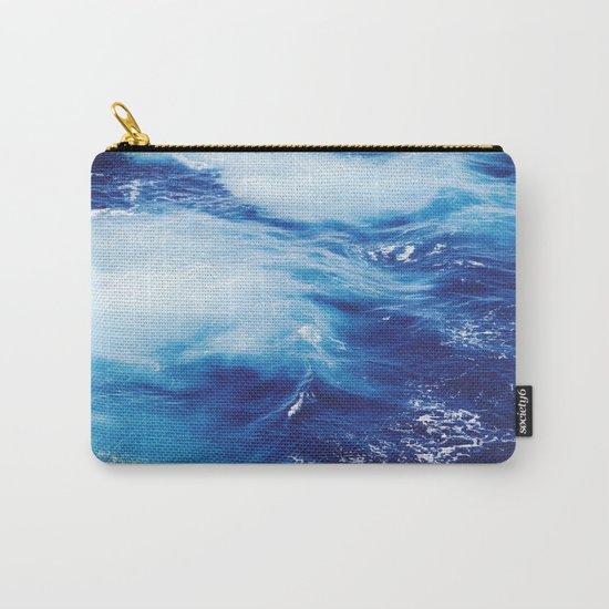 Deep Blue Ocean Carry-All Pouch