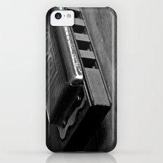 Black, White, & the Blues iPhone 5c Slim Case