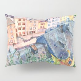 Luxembourg roofs Pillow Sham