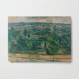 Landscape from Jas de Bouffan Metal Print