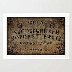 Ouija (Gravedigger) Art Print