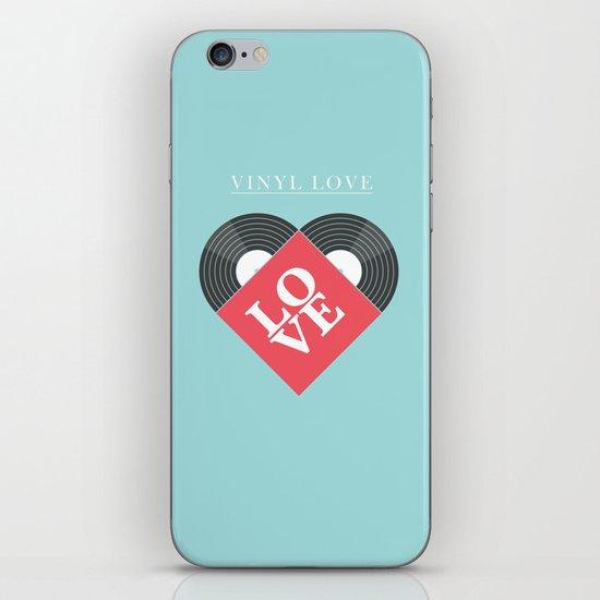Vinyl Love iPhone Skin