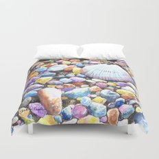 Rainbow Rocks Duvet Cover