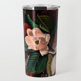 FLORAL AND BIRDS XIV Travel Mug