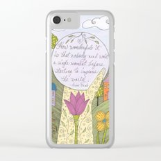 A Better World Clear iPhone Case
