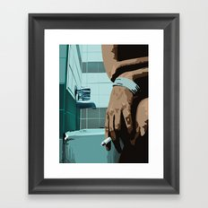 Suicide Framed Art Print