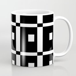 Tribute to mondrian 1- piet,geomtric,geomtrical,abstraction,de  stijl,composition. Coffee Mug