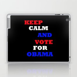 Keep Calm and Vote for Obama Laptop & iPad Skin
