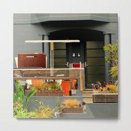 Garden WIP - Shabby Chic Metal Print