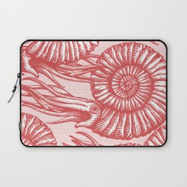 AMMONITE COLLECTION RED Laptop Sleeve